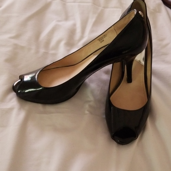 Michael Kors Shoes - Michael Kors Patent Leather Peep Toe
